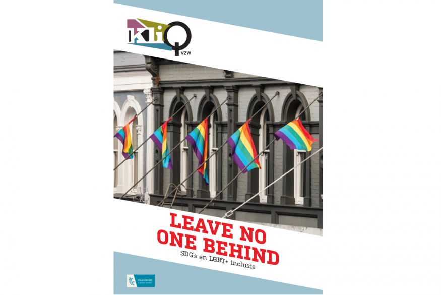 Leave no one behind: SDG's en LGBT+ inclusie